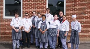 Success for Catering students in culinary competition